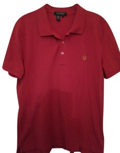 Lauren by Ralph Lauren Polo Rl T Shirt Red