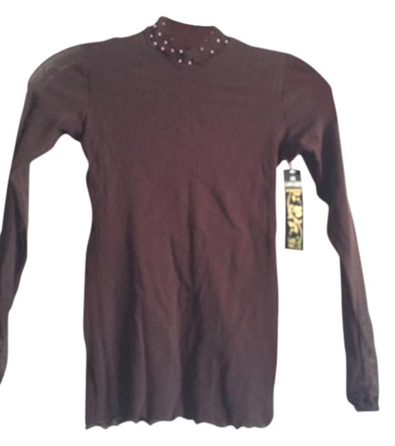 Preload https://item5.tradesy.com/images/on-gossamer-brown-night-out-top-size-8-m-11990914-0-1.jpg?width=400&height=650