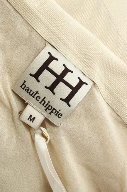 Haute Hippie New With Tags Mini Skirt Neutral Sequins