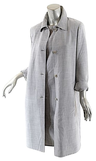 Preload https://item3.tradesy.com/images/michael-kors-grey-wool-stretch-sheath-duster-coat-suitensemble-knee-length-short-casual-dress-size-8-11991187-0-1.jpg?width=400&height=650