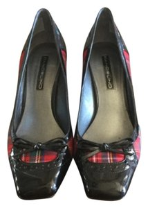 Bandolino Red Plaid Pumps