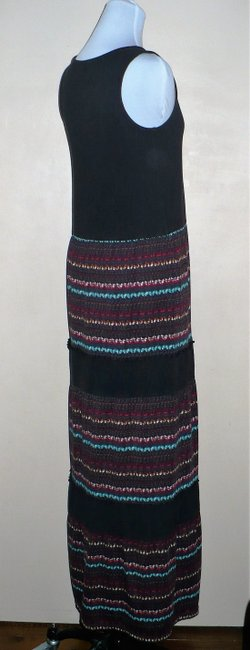 Black Combo Maxi Dress by Free People