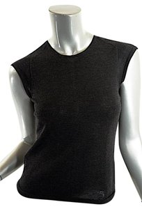 Narciso Rodriguez Cashmere Cap Sleeve Sweater