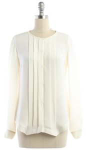 Derek Lam Nwt New With Tags Buttondown Top Cream