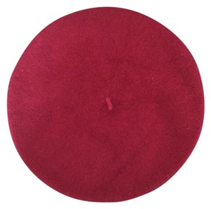 Other Maroon Wool Beret Hat
