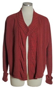 Calvin Klein Open Front Cable Sweater Cardigan