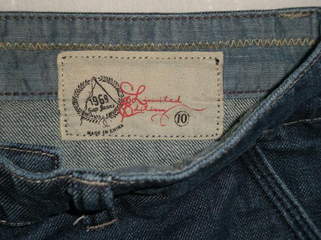 Gap Front Slant Pockets *no Coin Pocket * Machine Washable *cotton/Spandex * Zip Fly Trouser/Wide Leg Jeans-Medium Wash