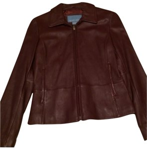 Nine West Burgundy/wine Jacket
