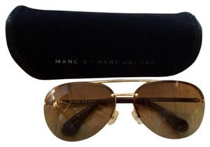 2b0f4508a14d Gold Marc by Marc Jacobs Sunglasses - Up to 70% off at Tradesy