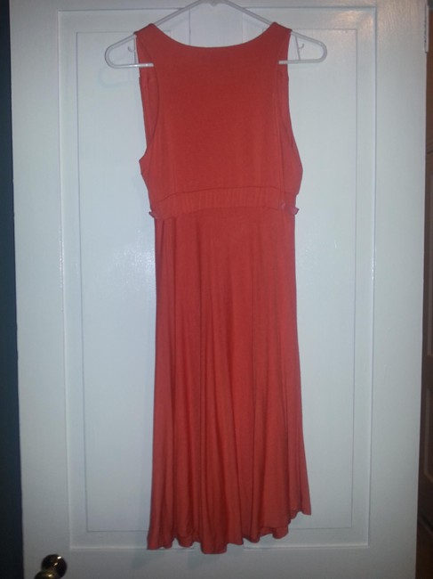 Akiko short dress coral Summer Light Weight on Tradesy