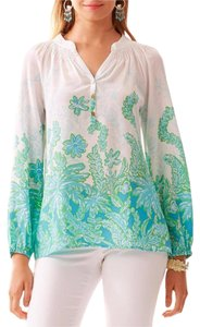 Lilly Pulitzer Elsa Palm Party Nwt Top