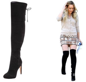 Sam Edelman Over The Knee Black Boots