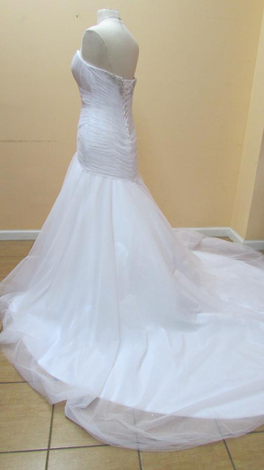 Alfred angelo 261a wedding dress on sale 11 off for Paying for a wedding dress