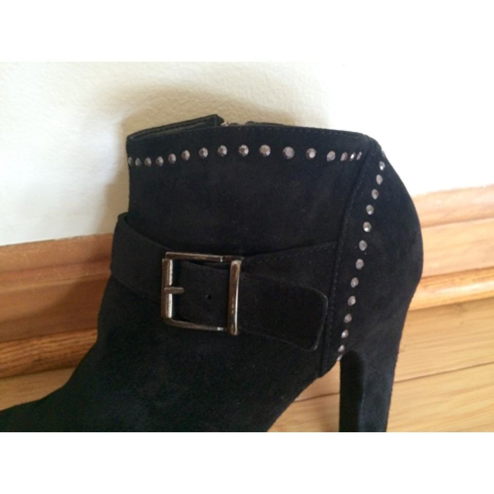 5a77d364620 NaNa Blac Suede Stiletto Heel Ankle Studded Boots/Booties Size US 8 Regular  (M, B) 70% off retail