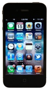 Apple Apple I phone 4S 8 GB with case and Accessories