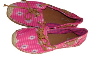 Sperry Pink Pastel Flats