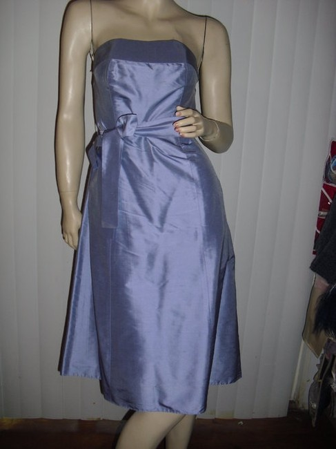 Aria Purple Or Lavender As Pictured Light Silk Strapless @ Fashionista Style Boutique Knee Length Cocktail Dress Size 2 (XS) Aria Purple Or Lavender As Pictured Light Silk Strapless @ Fashionista Style Boutique Knee Length Cocktail Dress Size 2 (XS) Image 2