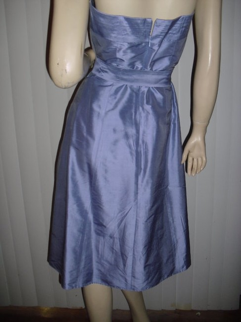 Aria Purple Or Lavender As Pictured Light Silk Strapless @ Fashionista Style Boutique Knee Length Cocktail Dress Size 2 (XS) Aria Purple Or Lavender As Pictured Light Silk Strapless @ Fashionista Style Boutique Knee Length Cocktail Dress Size 2 (XS) Image 3
