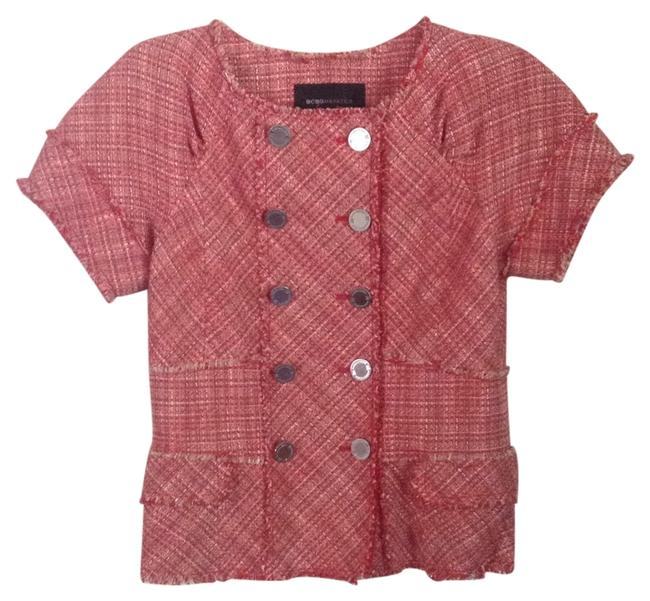 Preload https://item1.tradesy.com/images/bcbgmaxazria-red-and-tan-spring-jacket-size-4-s-11993710-0-1.jpg?width=400&height=650