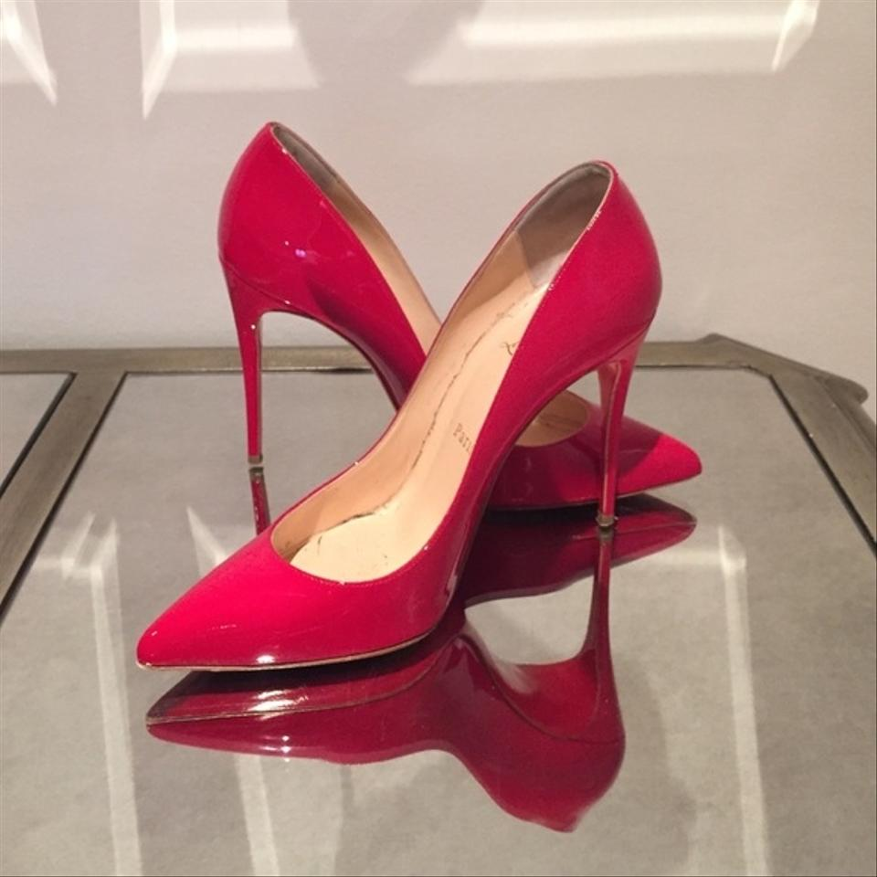 Christian Louboutin Red Pumps Pigalle Follie 100mm Pumps Red 7a443d