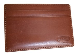 Coach Coach leather card case