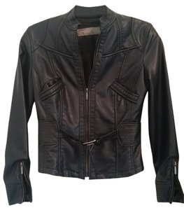 Zara Motorcycle Pleather Motorcycle Jacket