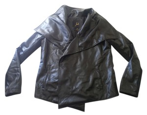 Jack Faux Leather Leather Jacket