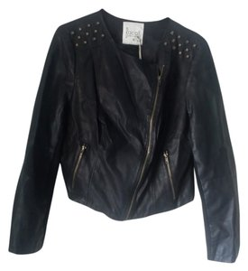 pret-a-porter Faux Leather Leather Jacket
