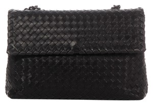 Bottega Veneta Bv.k0114.06 Black Olimpia Shoulder Bag