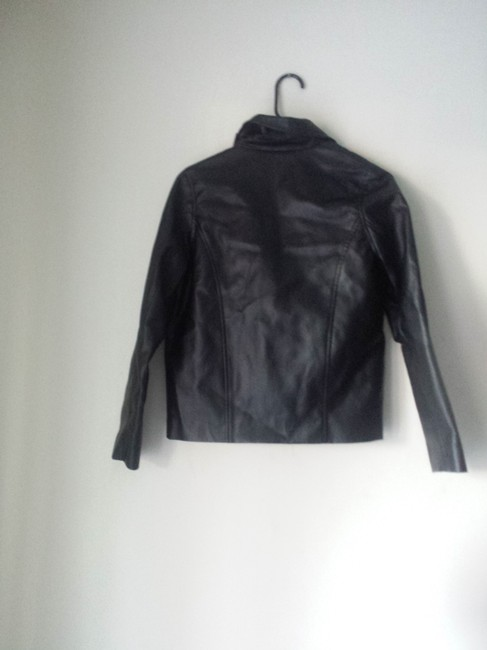 Jack Faux Leather Jacket