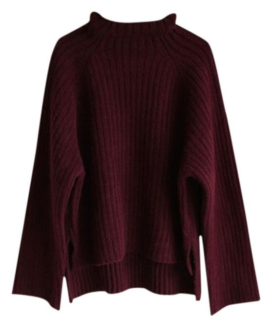 Preload https://item1.tradesy.com/images/mois-studio-wine-sweaterpullover-size-os-one-size-11995750-0-3.jpg?width=400&height=650