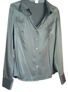 Ann Taylor Top Olive green