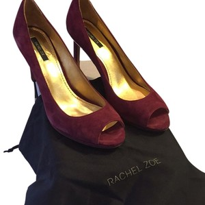 Rachel Zoe Plum Pumps