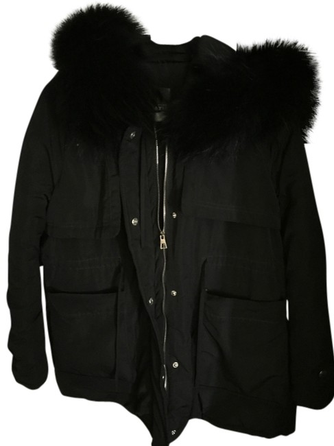 Preload https://img-static.tradesy.com/item/11996188/black-fur-puffyski-coat-size-os-one-size-0-2-650-650.jpg