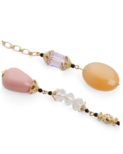 JEWELMINT NEW Jewelmint Parisian Dream Long Necklace - Pink Gold Tone - SOLD OUT ON JEWELMINT