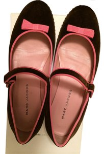 Marc Jacobs Ballet Mary Jane Brown and Pink Flats
