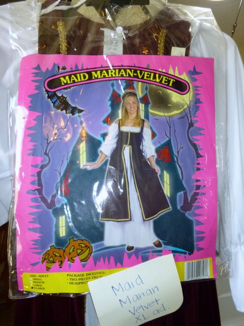 Costume National Halloween Costume Maid Marion Tags Still On Never Worn Dress