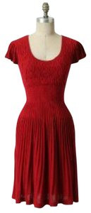 Anthropologie short dress Red Sparrow Lover on Tradesy