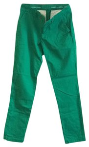 Gap Straight Pants Green