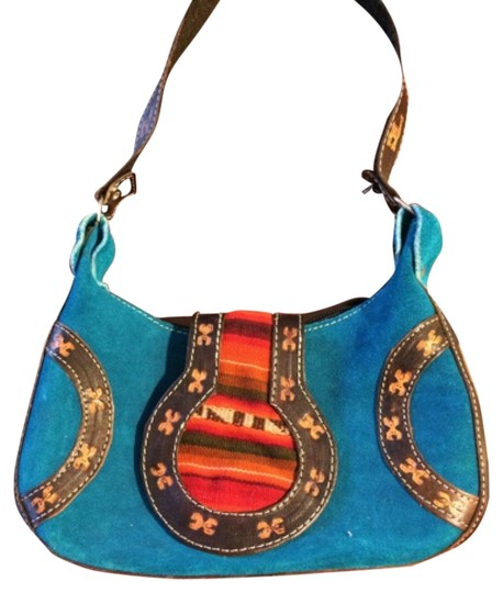 Preload https://item3.tradesy.com/images/peru-turquoise-leather-hobo-bag-11996977-0-6.jpg?width=440&height=440