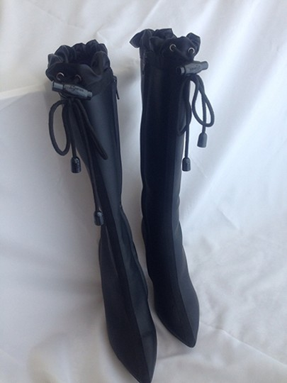 Cole Haan Nike Lab Rain Boots Water-repellant G Black Boots