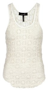 Isabel Marant Crochet Top Cream