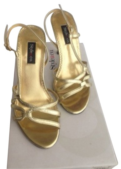 Style & Co Wedding Gold Formal