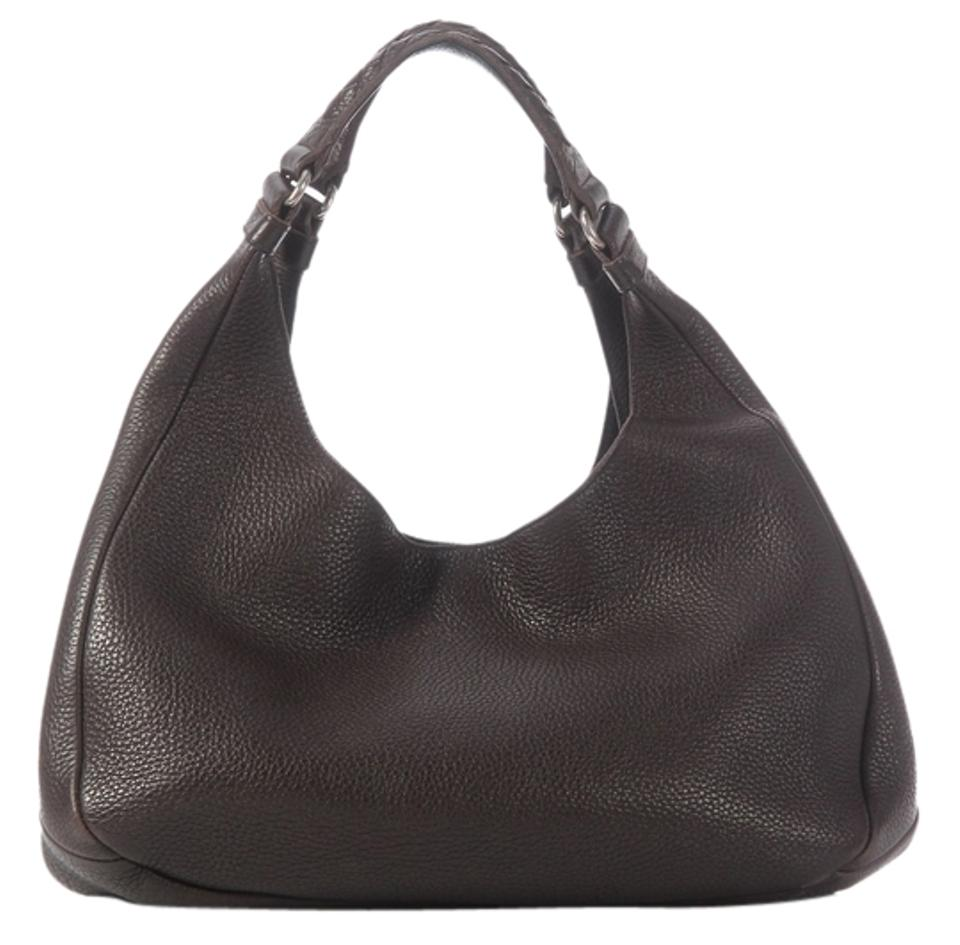 c8974f1b60 Bottega Veneta Bv.j1217.20 Campana Leather Hobo Bag Image 0 ...