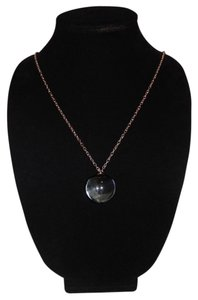 Black Real Marble Ball Pendant 30