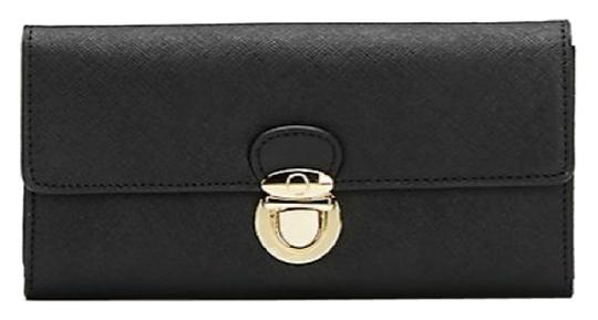 Preload https://img-static.tradesy.com/item/11999782/badgley-mischka-new-talia-saffiano-pushlock-wallet-black-leather-clutch-0-1-540-540.jpg