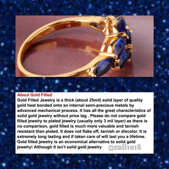 Other Yellow Gold Filled And Sapphire