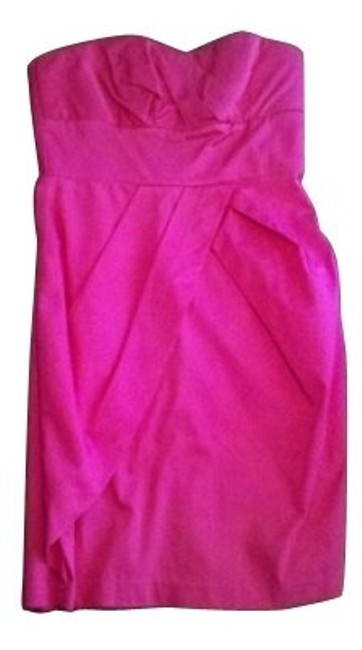 Preload https://item1.tradesy.com/images/forever-21-hot-pink-mini-short-casual-dress-size-6-s-120-0-0.jpg?width=400&height=650