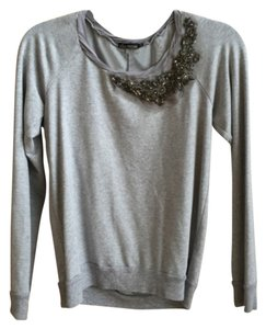 Ella Moss Beaded Bead Sweatshirt Detail Sweater