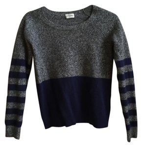 Madewell Wallace Stripe Navy Sweater